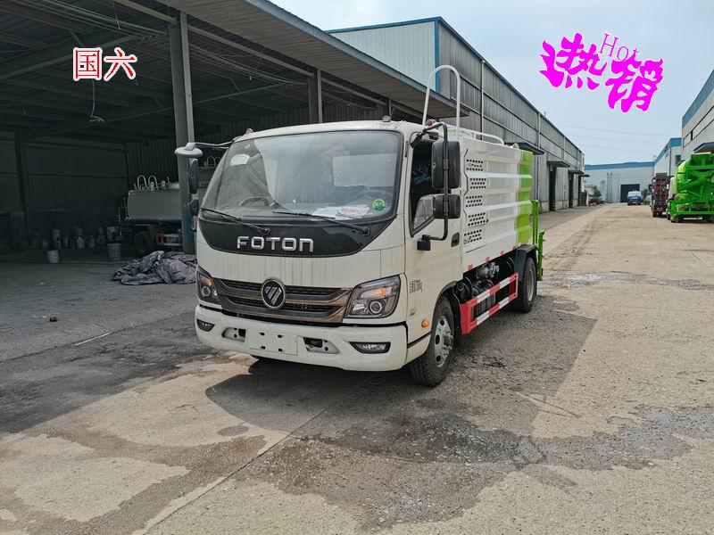 5吨蓝牌洒水车(福田M3)