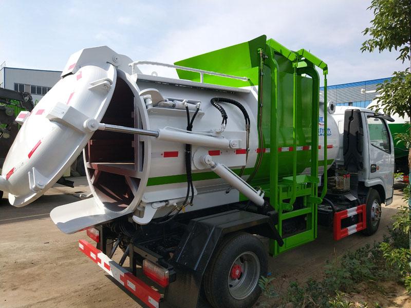 厨余垃圾运输车(带干湿分离功能)